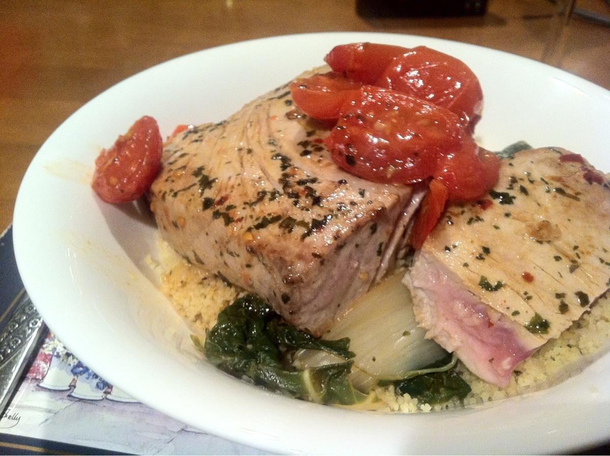 Cooked Tuna Coo...